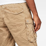 G-Star RAW® Rovic X-Relaxed Trainer Short Brown model back zoom
