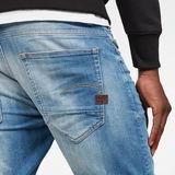 G-Star RAW® D-Staq 5-Pocket Short Medium blue front flat