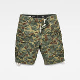 G-Star RAW® Rovic Relaxed Short Green flat front