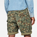 G-Star RAW® Rovic Relaxed Short Green model back zoom