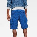 G-Star RAW® Rovic X-Relaxed Trainer Short Medium blue model back