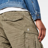 G-Star RAW® Rovic X-Relaxed Trainer Short Green model back zoom