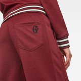 G-Star RAW® Lucay Wide Trackpant Red model back zoom