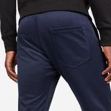 G-Star RAW® Air Defence Zip 3D Slim Sweatpants Dark blue model back zoom