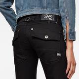 G-Star RAW® 5620 G-Star Elwood Heritage Ann Embro Tapered Jeans Dark blue