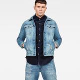 G-Star RAW® 3301 Slim Tape Restored Jacket Medium blue model front