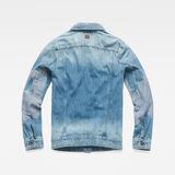 G-Star RAW® 3301 Slim Tape Restored Jacket Medium blue flat back