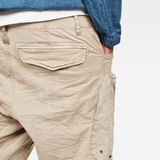 G-Star RAW® Rovic Airforce Relaxed Short Beige model back zoom