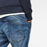 G-Star RAW® Arc 3D Sport Straight Tapered Jeans Medium blue model back zoom