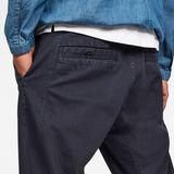 G-Star RAW® Bronson Straight Tapered Trousers Dark blue model back zoom