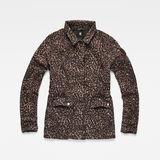 G-Star RAW® Beryl Restored Field Jacket Pink flat front
