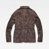 G-Star RAW® Beryl Restored Field Jacket Pink flat back