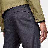 G-Star RAW® Bronson Moto Slim Pant Dark blue model back zoom