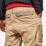 G-Star RAW® Arris Straight Tapered Pant Brown model back zoom