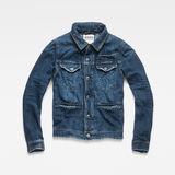 G-Star RAW® D-Staq RFTP Water 3D Jacket ミディアムブルー flat front