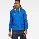 G-Star RAW® Meson Core Hooded Sweat Medium blue model front