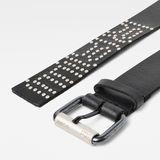 G-Star RAW® Degro Rivet Belt Black front flat