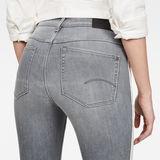 G-Star RAW® Biwes Stripe High Skinny Jeans Grau