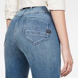 G-Star RAW® G-Star Shape Powel Skinny Jeans Medium blue model back zoom