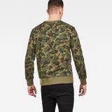 G-Star RAW® Zeabel Beach Core Sweater Green model back