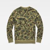 G-Star RAW® Zeabel Beach Core Sweater Green flat back