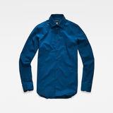 G-Star RAW® Core Super Slim Shirt Medium blue front flat