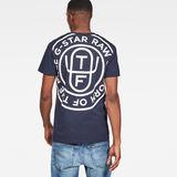 G-Star RAW® Graphic 12 T-Shirt Dark blue