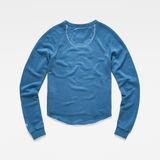 G-Star RAW® Graphic 11 Xzula Sweat Medium blue flat back