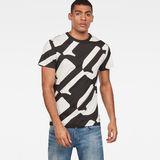 G-Star RAW® T-shirt Hyce Noir