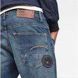 G-Star RAW® MAXRAW II Radar Straight Jeans Medium blue model back