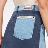G-Star RAW® Faeroes Zip Skirt Medium blue