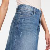 G-Star RAW® 3301 Skirt Medium blue front flat
