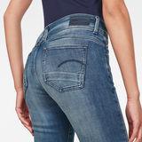 G-Star RAW® Lynn Mid Waist Skinny Jeans Mittelblau