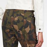 G-Star RAW® Lanc Skinny Trackpants Green model back zoom