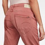 G-Star RAW® Arc 3D Low Boyfriend Earthtrace Restored Colored Jeans Pink model back zoom
