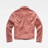 G-Star RAW® 3301 Boyfriend Jacket Earthtrace Pink flat back