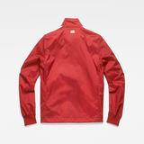 G-Star RAW® Meson Biker Overshirt Red flat back