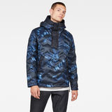 G-Star RAW® Attacc Hooded Down Anorak Dark blue model front