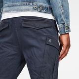 G-Star RAW® Rovic Slim Trainer Dark blue model back zoom