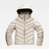 G-Star RAW® Whistler Slim Down Jacket Grey flat front