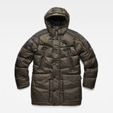 G-Star RAW® Whistler Down Parka Grey flat front