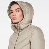 G-Star RAW® Whistler Slim Down Coat Grey creative shot