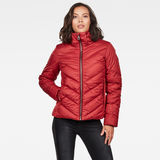 G-Star RAW® Whistler Slim Down Jacket Red model front