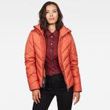 G-Star RAW® Whistler Slim Down Jacket Orange model front