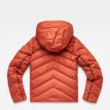 G-Star RAW® Whistler Slim Down Jacket Orange flat back