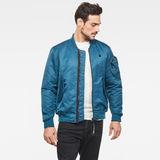 G-Star RAW® Arris Bomber Jacket Medium blue model front