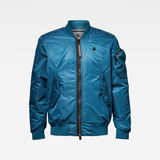 G-Star RAW® Arris Bomber Jacket Medium blue flat front