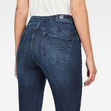 G-Star RAW® Citi-You High Super Skinny Jeans Dark blue back view