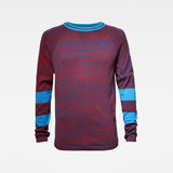 G-Star RAW® Core Straight Knitted Sweater Red flat front