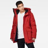 G-Star RAW® Citishield Short Parka Red model side